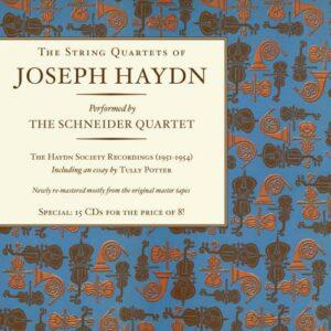 Haydn : Quatuors à cordes. Quatuor Schneider.