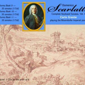 Domenico Scarlatti: Complete Keyboard Sonatas Vol. IV - Carlo Grante