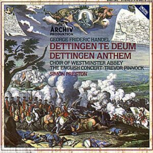 Handel: Handel: Dettingen Te Deum - The English Concert