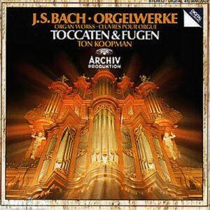 Bach: Toccata Und Fuge - Ton Koopman