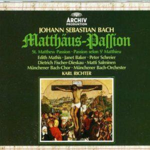 Bach: Matthaus-Passion (Complete) - Karl Richter