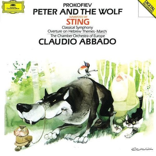 Prokofiev: Peter And The Wolf - Sting / Vladar
