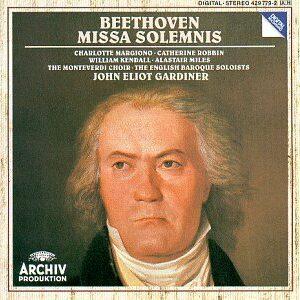 Beethoven: Missa Solemnis - John Eliot Gardiner