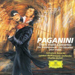 Paganini: Violin Concertos - Accardo