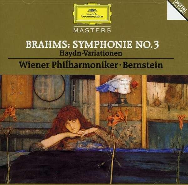 Brahms: Symphony No 3 / Haydn-Variationen - Wiener Philharmoniker / Bernstein