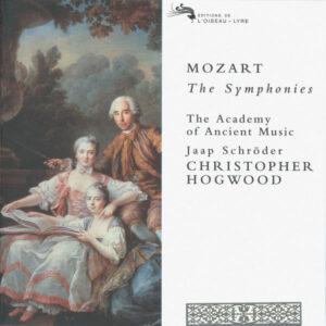 Mozart: Symphonies - The Academy Of Ancient Music / Jaap Schröder - Hogwood