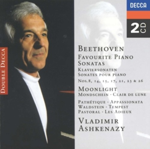 Beethoven: Favourite Piano Sonatas - Ashkenazy, Vladimir