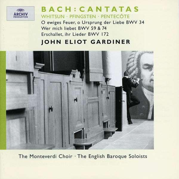 Bach: Whitsun Cantatas 24 / 59 / 74 / 172 - John Eliot Gardiner