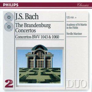 Bach: Brandenburg Concertos - Holliger / Szeryng / Petri / Sir Neville Marriner - Kremer