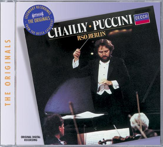 Puccini: Orchestral Music - Radio-Symphonie-Orchester Berlin / Chailly