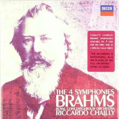 Brahms: Symphonies (Complete) - Koninklijk Concertgebouworkest / Chailly