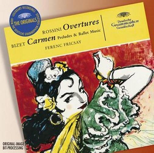 Rossini / Bizet: Overtures / Carmen-Suite - Berliner Philharmoniker / Fricsay