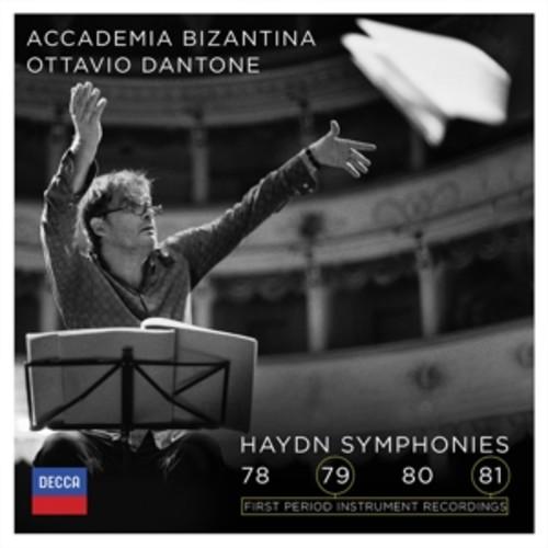 Haydn: Symphonies Nos. 78-81 - Accademia Bizantina / Dantone