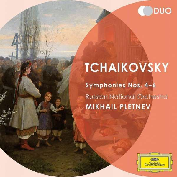 Tchaikovsky: Symphony Nos.4-6 (Duo Series) - Russian National Orchestra / Pletnev