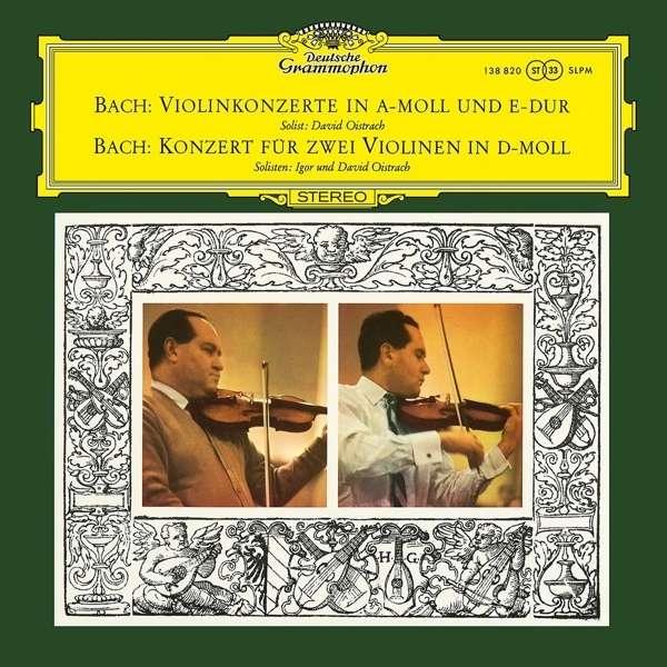 Bach: Violin Concertos Nos. 1 & 2 / Oistrakh