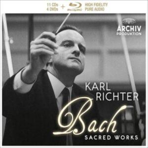 J.S. Bach: Sacred Works (Deluxe Ltd.Ed.) - Ernst Haefliger