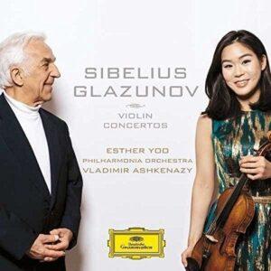 Glazunov Sibelius: Violin Concertos - Esther Yoo