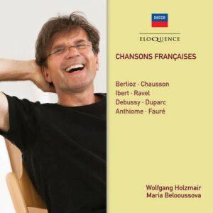 Chansons Francaises - Wolfgang Holzmair