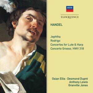 Handel: Jephtha, Rodrigo, Concertos For Lute And Harp - Osian Ellis