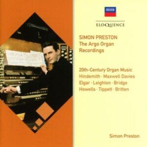 20th-Century Organ Music - Simon Preston