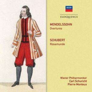 Mendelssohn: Overtures / Schubert: Rosamunde - Wiener Philharmoniker