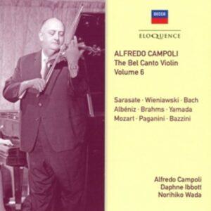 Bel Canto Violin Vol.6 - Alfredo Campoli