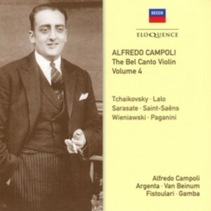 Bel Canto Violin Vol.4 - Alfredo Campoli