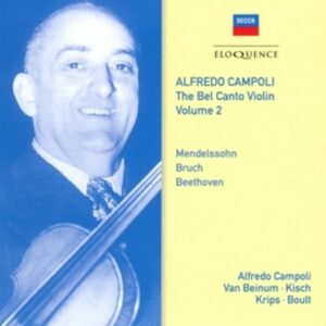 Bel Canto Violin Vol.2 - Alfredo Campoli