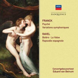 Franck / Ravel: Orchestral Works - Geza Anda