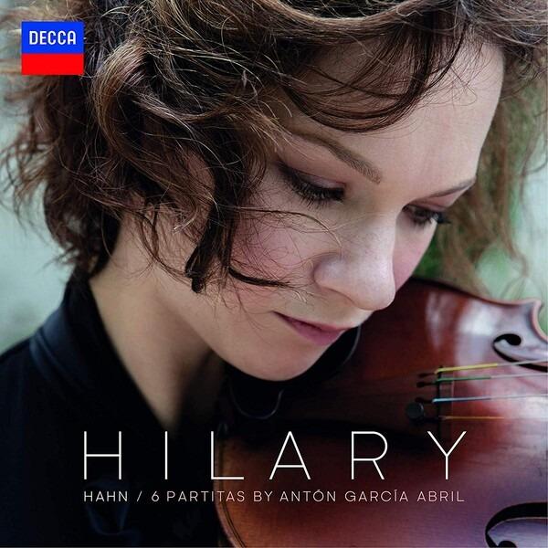 Garcia Abril: 6 Partitas (Vinyl) - Hilary Hahn