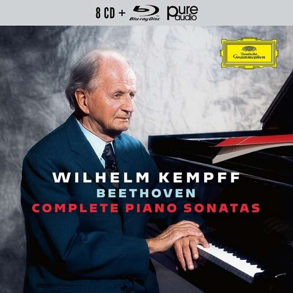 Beethoven: Complete Piano Sonatas (8CD + 1Bluray) - Wilhelm Kempf
