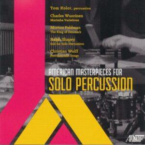 American Masterpieces for Solo Percussion, Volume II