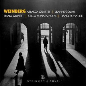 Weinberg: Piano Quintet, Piano Sonatina, Cello Sonata No.2 - Andrew Yee