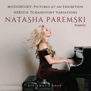 Mussorgsky: Pictures at an Exhibition / Fred Hersch: Variations on a Theme by Tchaikovsky - Natasha Paremski