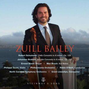 Schumann / Brahms / Bloch / Bruch - Zuill Bailey