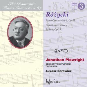 L. Rozycki: Piano Concertos - Plowright