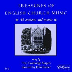 Treasures Of English Church Music - Cambridge Singers