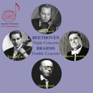 Brahms: Double Concerto / Beethoven: Triple Concerto - Isaac Stern