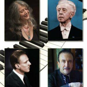 Premier Pianists, vol. 2 : Rubinstein, de Larrocha, Gilels, Tureck, Perahia, Casadesus, Richter, Michelangeli, Arrau, Argerich, Cliburn.