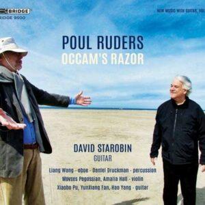 Ruders: Occam's Razor (New Music With Guitar Vol. 11) - David Starobin
