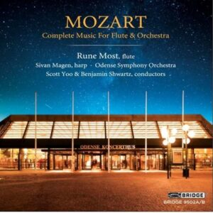 Mozart: Complete Music For Flute & Orchestra - Rune Most