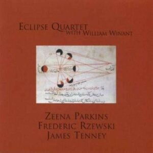 Parkins, Rzewski, Tenney: Works For String Quartet And Percus