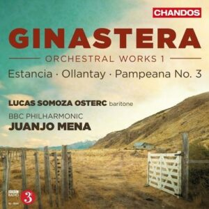 A. Ginastera: Estancia, Ollantay, Pampeana - BBC Philharmonic / Mena
