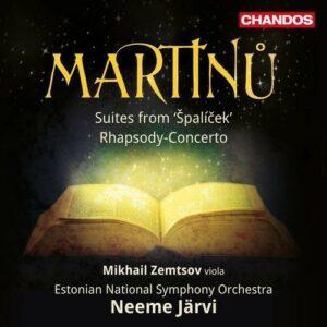 B. Martinu: Spalícek, Suites Nos.1 & 2