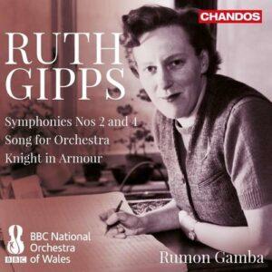 Ruth Gipps: Symphonies Nos.2 & 4 - Rumon Gamba
