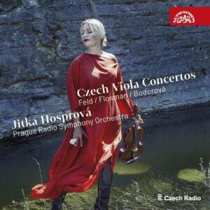 Czech Viola Concertos - Jitka Hosprova