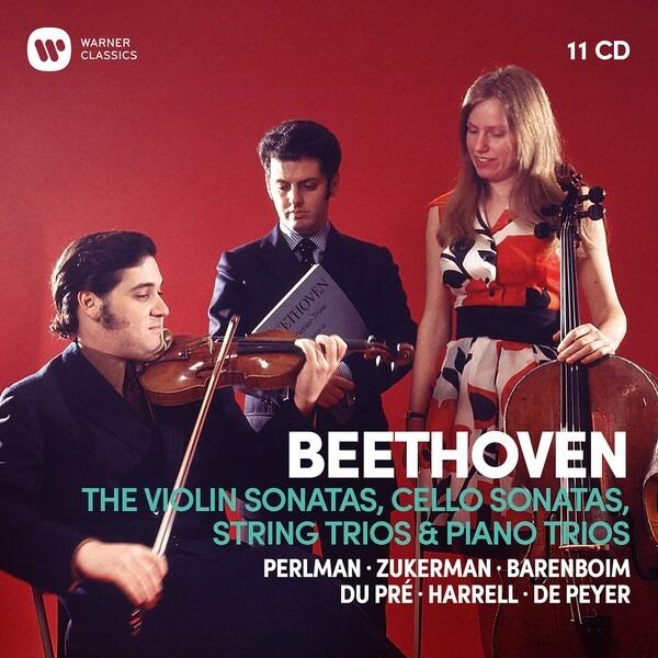 Beethoven: Complete Violin & Cello Sonatas, String & Piano Trios - Daniel Barenboim