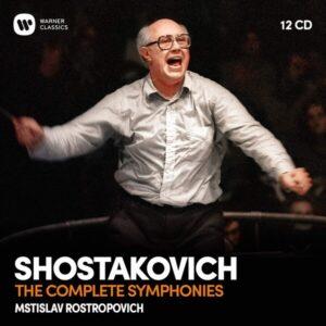 Shostakovich: Complete Symphonies - Mstislav Rostropovich
