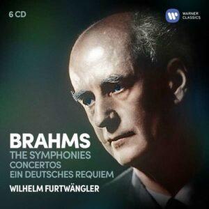 Brahms: Symphonies, Concertos, Ein deutsches Requiem - Wilhelm Furtwängler