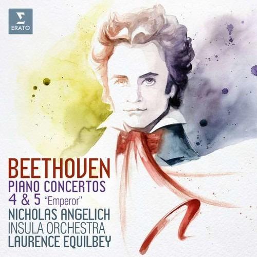 Beethoven: Piano Concertos Nos.4 & 5 - Nicholas Angelich